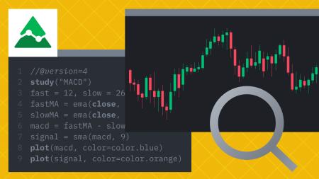 Как создать индикаторы TA на TradingView