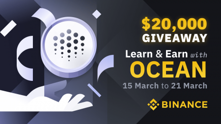 Binance Learn & Earn Series: A Total of $20,000 in OCEAN to be Given Away!