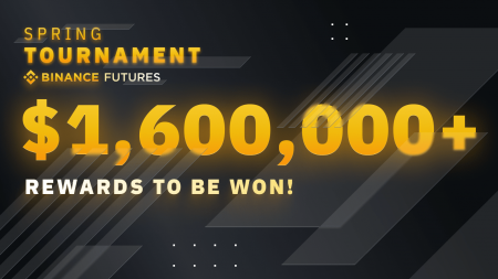 Binance Futures Spring Tournament -  Over $1,600,000 in BNB to Be Won!
