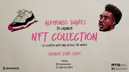Binance NFT Marketplace Announces Exclusive NFT Collection With Football Star Alphonso Davies