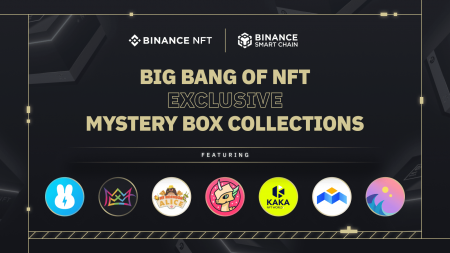 """Binance NFT Marketplace Drop: New """"Big Bang"""" Mystery Boxes From BunnyPark, KAKA, Polkamon, X World Games, My Neighbour Alice, Mobox and Seascape!"""