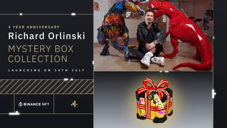 Binance NFT Marketplace Launches Richard Orlinski NFT Collection to Celebrate Binance 4th Anniversary