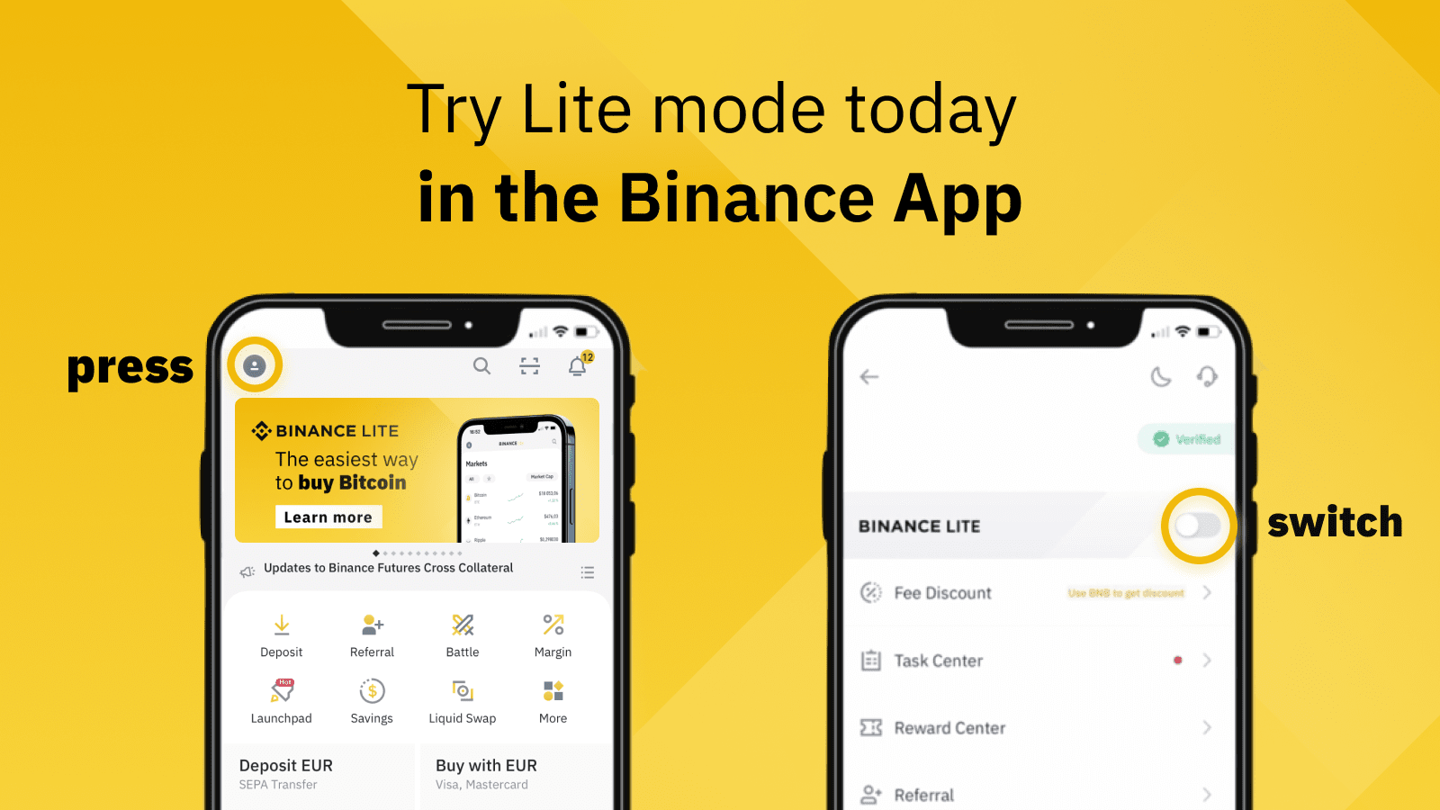 Binance Lite vs Professional: Which Mode Is Right For You?