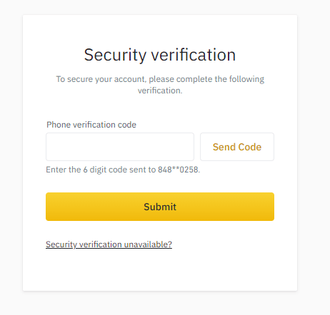 How to Login and Deposit in Binance