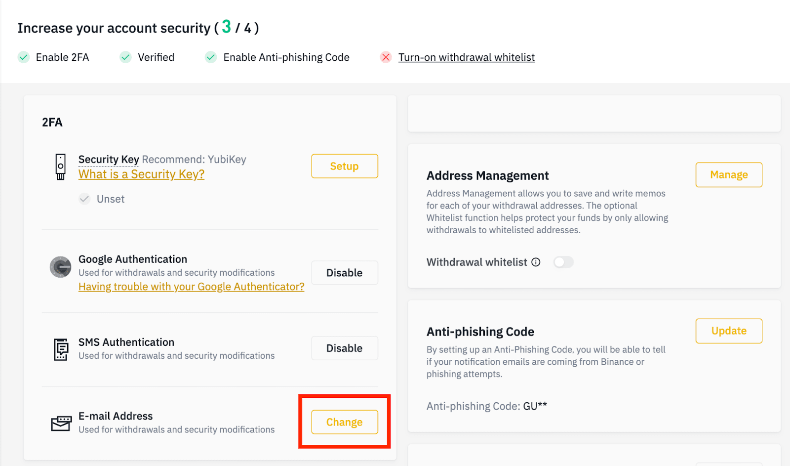 How to Login and Verify Account in Binance