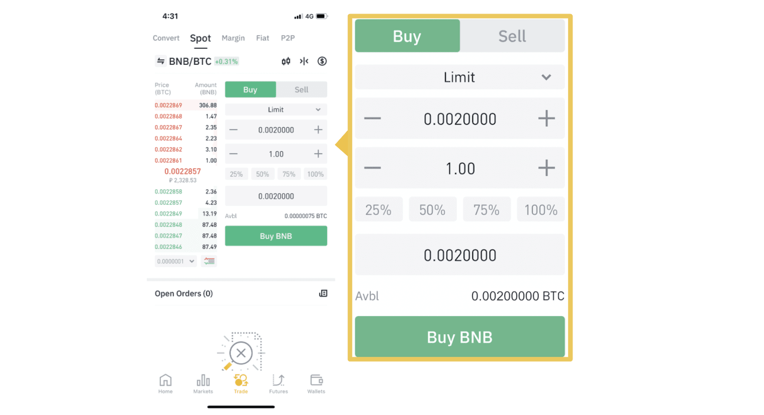 How to Register and Trade Crypto at Binance