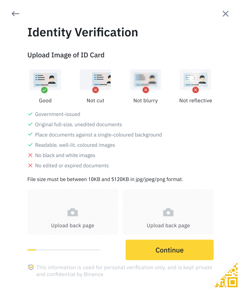 How to Verify Account in Binance