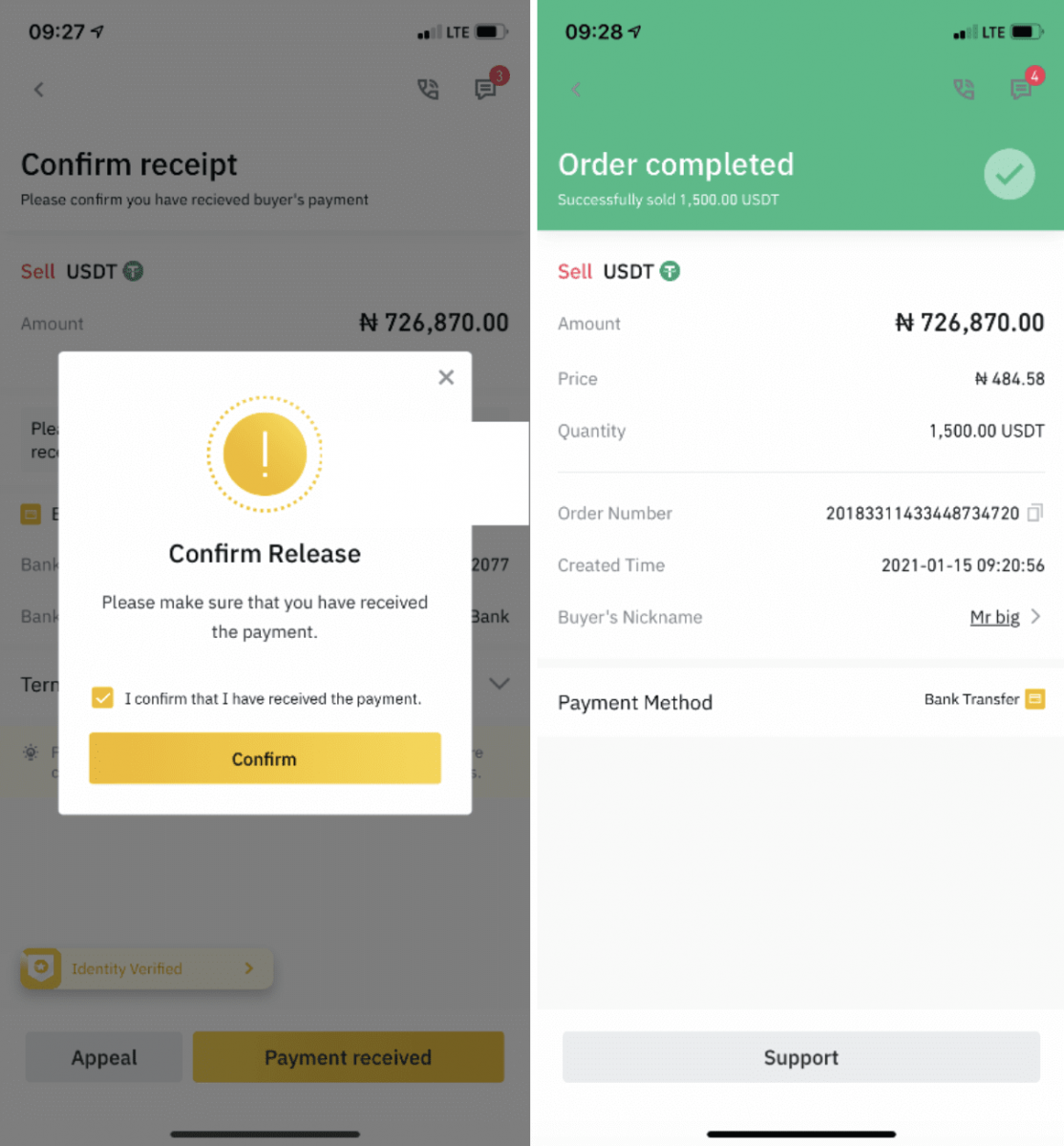 How to Withdraw in Binance